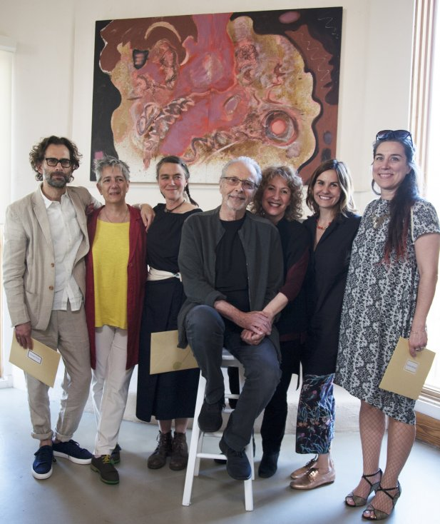The 2017 Winners of the Herb Alpert Award in the Arts with Herb and Lani Alpert